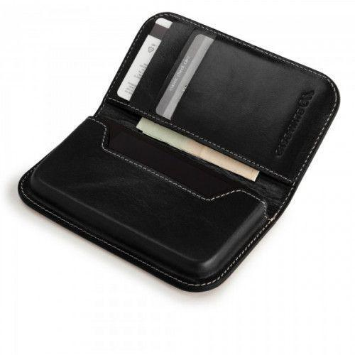 Case-mate Signature Collection Leather Folding Wallet for iPhone 4/4S in Black