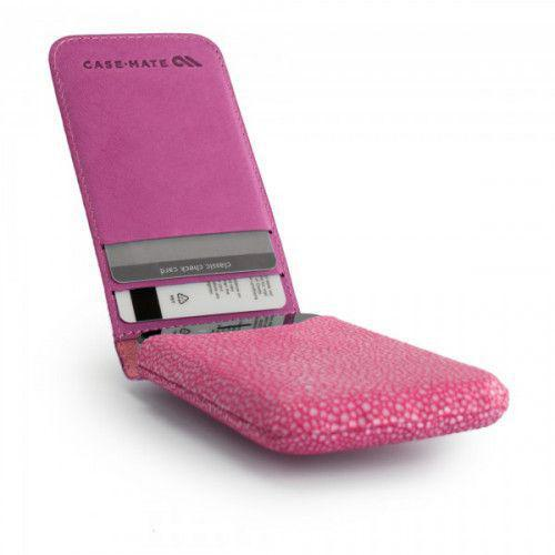 Case-mate Stingray Collection Foldover Pouch for iPhone 4/4S in Pink