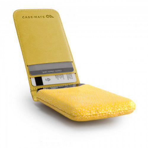 Case-mate Stingray Collection Foldover Pouch for iPhone 4/4S in Yellow