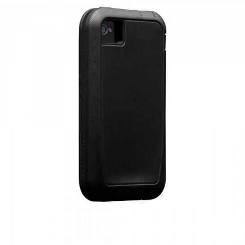 Case-mate Phantom Cases for Apple iPhone 4/4s in Black + φιλμ προστασίας οθόνης