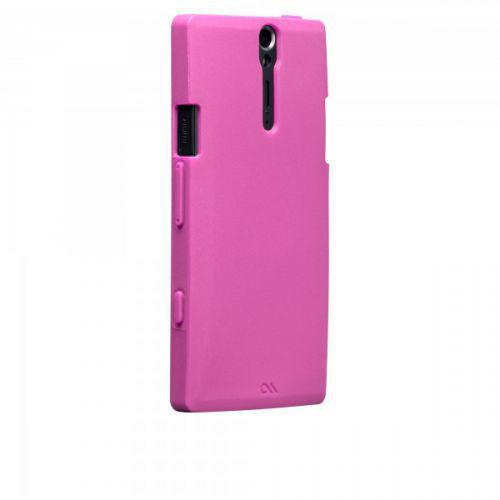 Case-mate Smooth Cases for Sony Xperia S in Pink