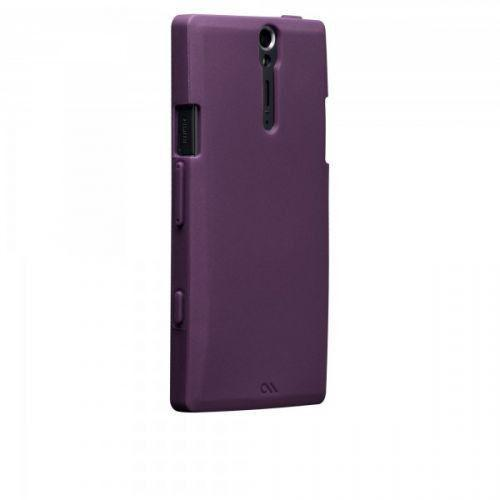 Case-Mate Smooth Case Purple for Sony Xperia S