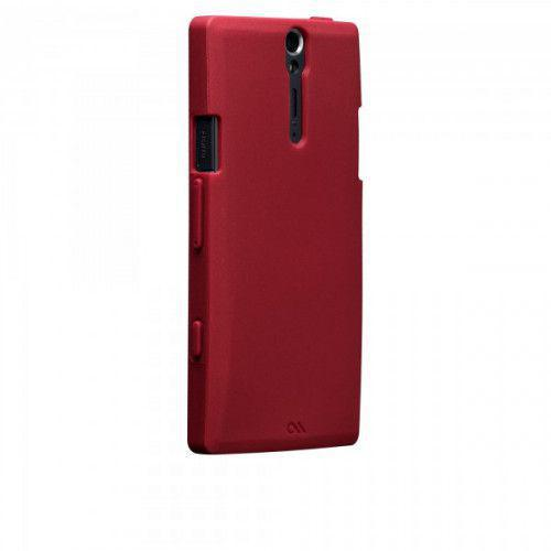 Case-mate Smooth Cases for Sony Xperia S in Red