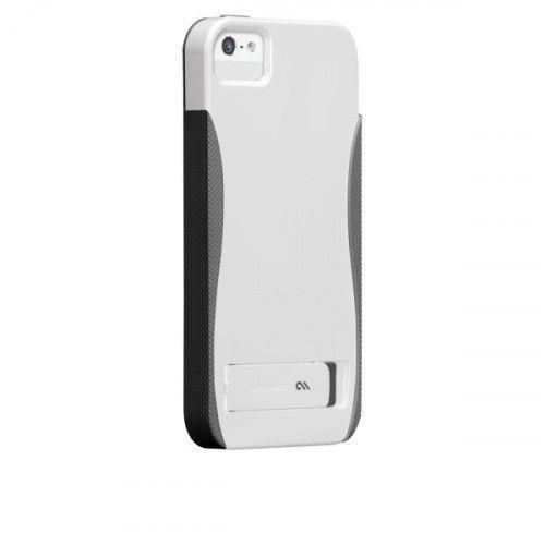 Case-mate Pop Cases for Apple iPhone 5 in White & Titanium