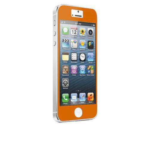 Case-mate Zero Bubbles Screen Protectors for Apple iPhone 5 in Orange