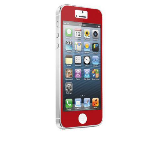 Case-mate Zero Bubbles Screen Protectors for Apple iPhone 5 in Red