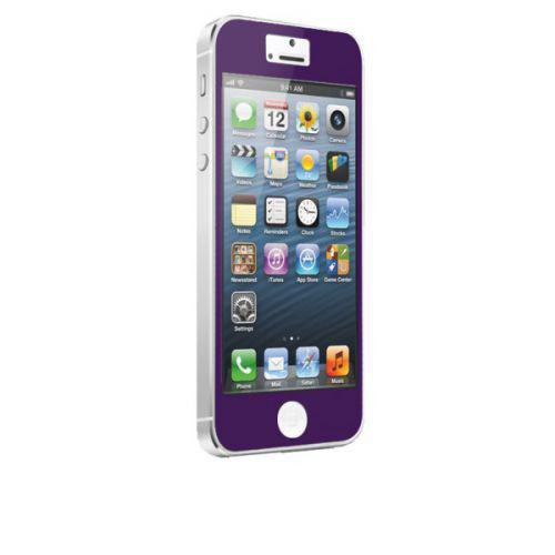 Case-mate Zero Bubbles Screen Protectors for Apple iPhone 5 - Purple