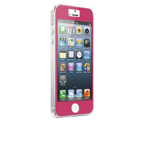 Case-mate Zero Bubbles Screen Protectors for Apple iPhone 5 in Pink
