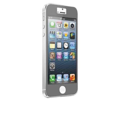Case-mate Zero Bubbles Screen Protectors for Apple iPhone 5 in Grey