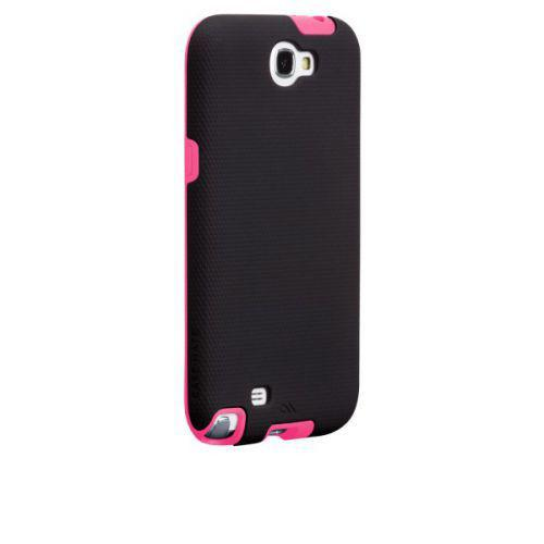 Case-mate Tough Cases for Samsung Galaxy Note 2 in Black/ Lipstick Pink
