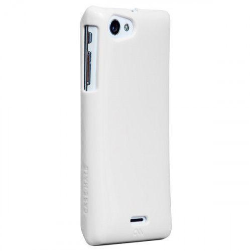 Case-mate Barely There Cases for Sony Xperia J in White