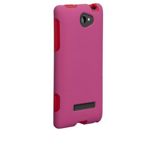 Case-mate Tough Cases for HTC 8S in Pink/ Red