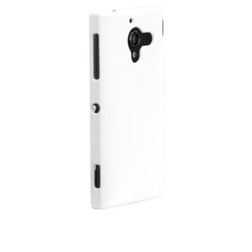 Case-mate Barely There Cases for Sony Xperia ZL C6603 in White