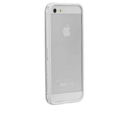 Case-mate Hula Cases for Apple iPhone 5 in White + Φιλμ προστασίας front-back