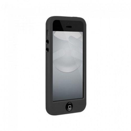 Θήκη Switch Easy Colors For iPhone 5 5s Black + 2 φιλμ προστασίας οθόνης