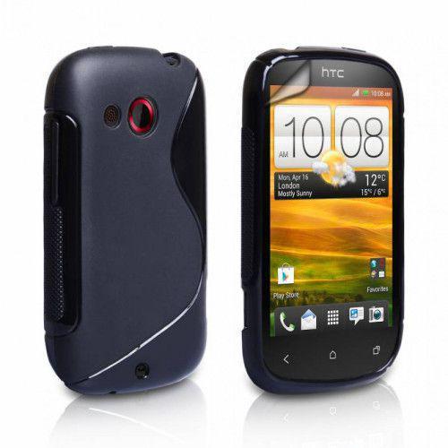 Θήκη Σιλικόνης για HTC Desire C black