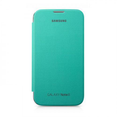 Θήκη Samsung EFC-1J9BMEGSTD Flip Cover Mint για Samsung Note 2 N7100