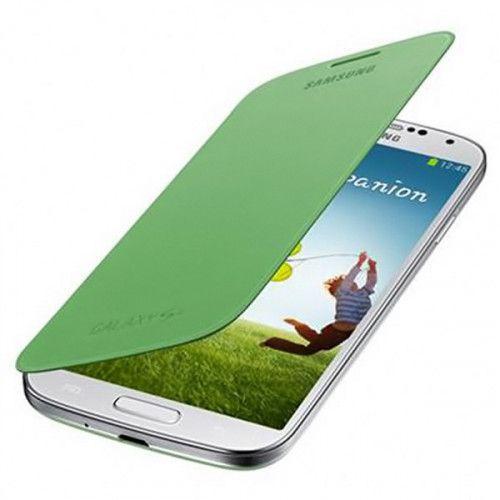 Θήκη Samsung Flip Cover για Samsung Galaxy S4 i9500 in Green  EF-FI950BGEG Original
