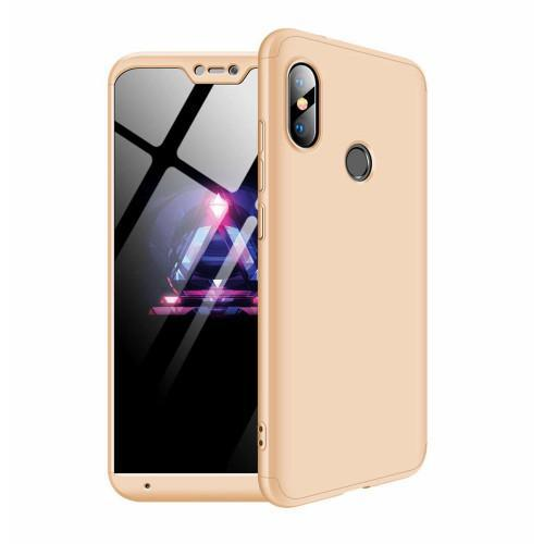 Θήκη OEM 360 Protection front and back full body για Xiaomi Mi A2 Lite gold