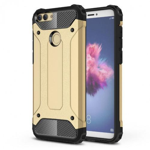 Θήκη OEM Hybrid Armor Back Cover για Huawei P Smart gold