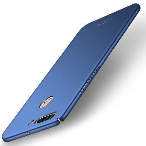 Θήκη MSVII Simple Ultra-Thin Cover PC για Huawei Honor 9 μπλε χρώματος