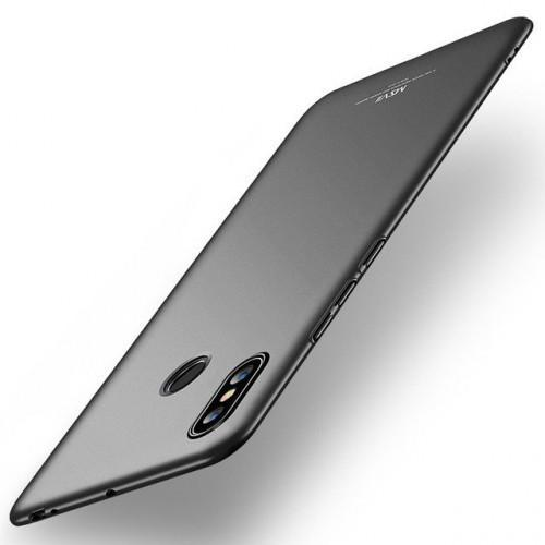 Θήκη MSVII Simple Ultra-Thin Cover PC για Xiaomi Mi Max 3 μαύρου χρώματος