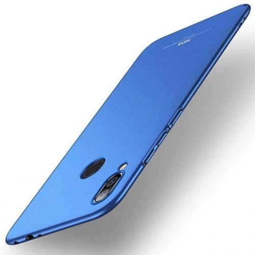 MSVII Simple Ultra-Thin Cover PC Case for Xiaomi Redmi Note 7 blue