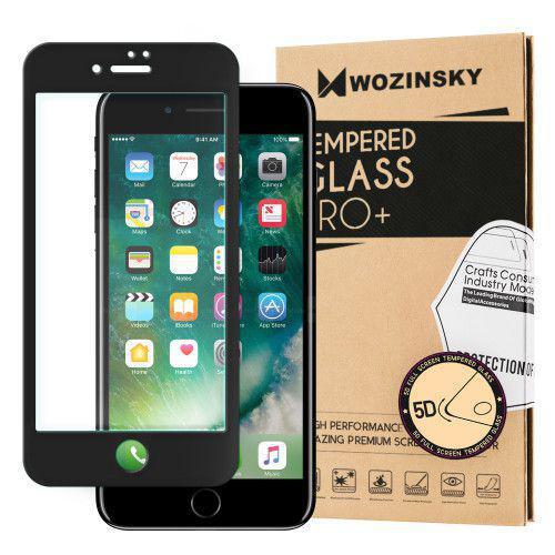 Tempered Glass 5D Super Tough Πλήρους Κάλυψης με μαύρο πλαίσιο για iPhone 7