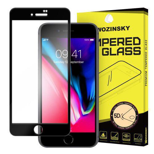 Tempered Glass PRO+ 5D Super Tough Screen Protector Πλήρους Κάλυψης με πλαίσιο για iPhone 8 Plus black