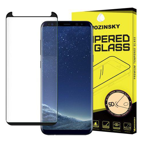 Tempered Glass 5D Full Glue Super Tough Full Coveraged with Frame for Samsung Galaxy Note 9 N960 black
