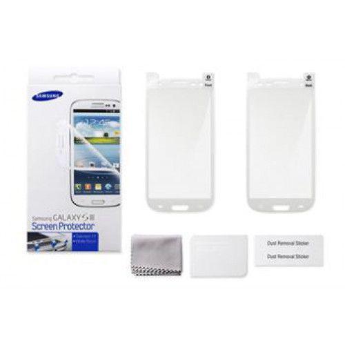 Samsung 2Pc Screen Protector White I8190 Galaxy S III Mini ETC-G1M7WE