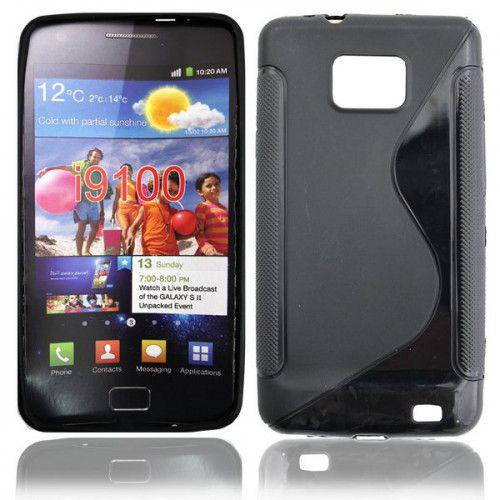 Θήκη Σιλικόνης για Samsung Galaxy S2 i9100 black
