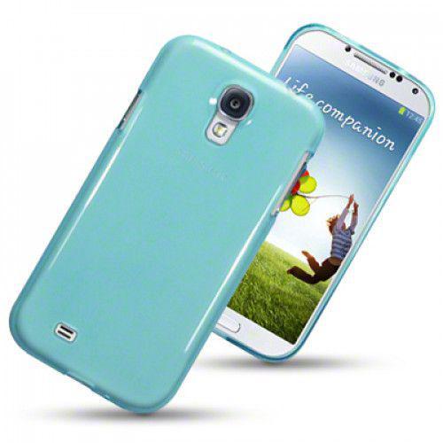 Θήκη Σιλικόνης για Samsung Galaxy I9500 S4 blue
