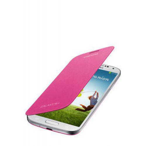 Θήκη Samsung Flip Cover για Samsung Galaxy S4 I9500 in Pink EF-FI950BPEG Original