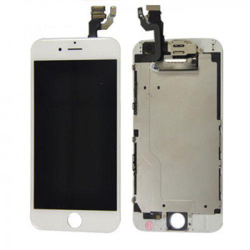 Οθόνη και Μηχανισμός Αφής για iPhone 6 Λευκή