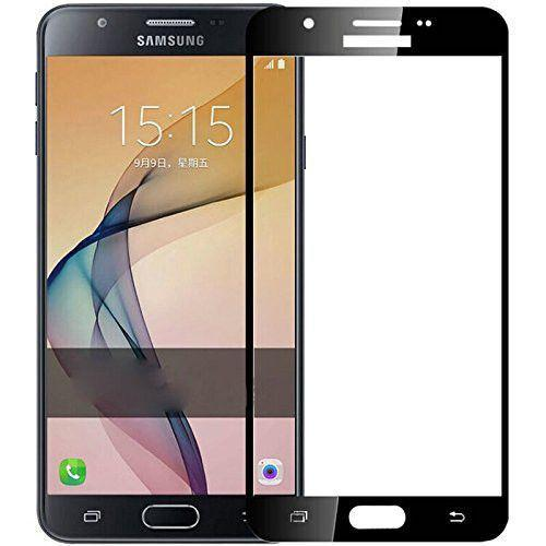 Φιλμ Προστασίας Οθόνης Tempered Glass (άθραυστο ) 9H για Samsung Galaxy J5 2016 J510 full face black
