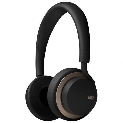 Ακουστικά Jays u-Jays Wireless Black Gold T00182 ( 25hr Playtime ,with touch controls)