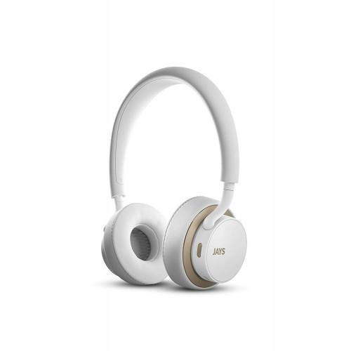 Ακουστικά Jays u-Jays Wireless White Gold T00184 ( 25hr Playtime ,with touch controls)