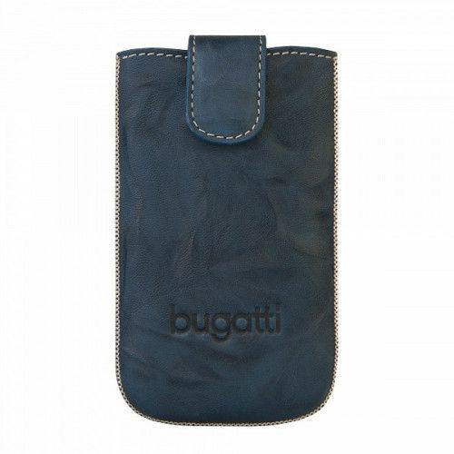 Θήκη Bugatti Slimcase Leather Unique Jean Size Small για Z3 , Spiro , Asha 311