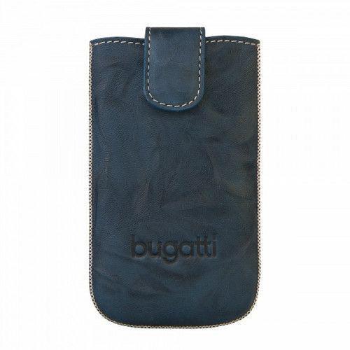 Θήκη Bugatti Slimcase Leather Unique Jean Size SL για Lumia 820, L5 E610 , Xperia J