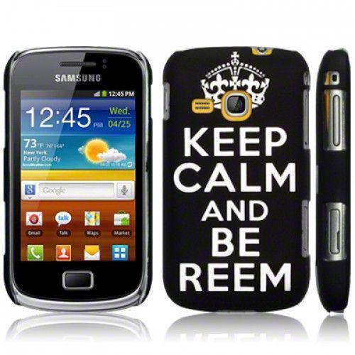 Θήκη Samsung S6500 Galaxy Mini 2 Black Be Reem By Warp