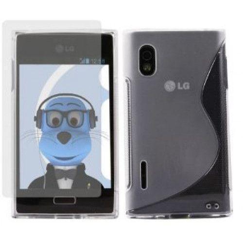 Θήκη Σιλικόνης για LG L5 E610 Διάφανη