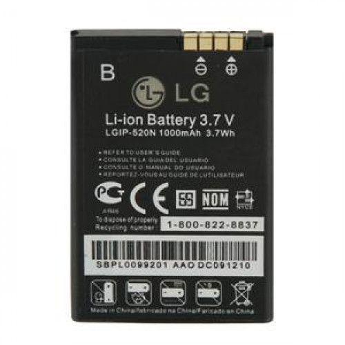 Μπαταρία LG LGIP-520N 1000mAh για LG BL 40 , GD900 Crystal (χωρίς συσκευασία)