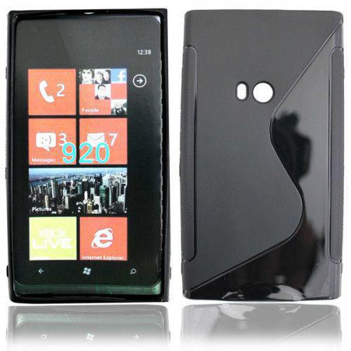 Θήκη Σιλικόνης για Nokia Lumia 920 black
