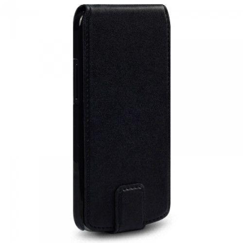 Θήκη Flip για LG E960 Nexus 4 σε μαύρο χρώμα