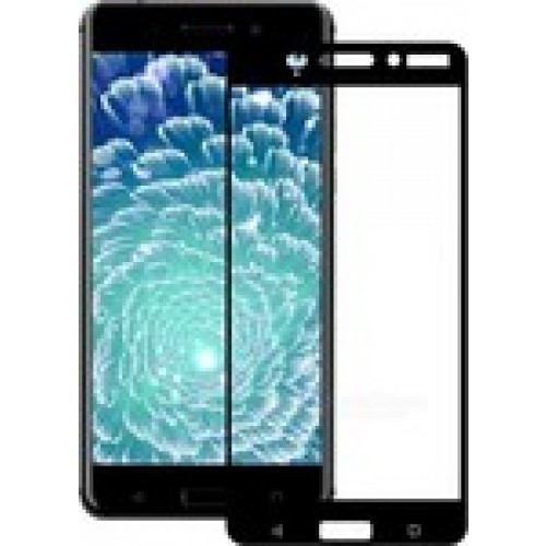 Tempered Glass Screen Protector Πλήρους Κάλυψης για Nokia 8 black