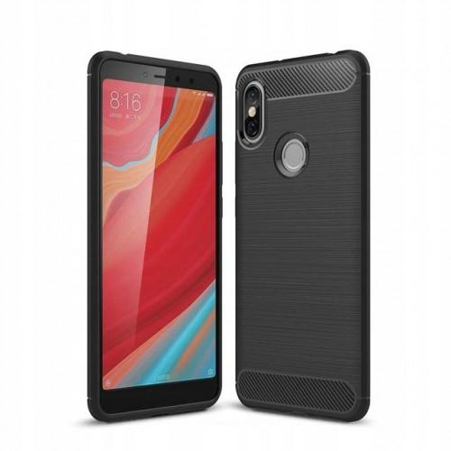 Θήκη OEM Brushed Carbon Case Flexible TPU για Xiaomi Redmi Note 7 black