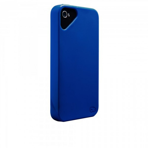 Olo Nimbus Solid Cases for Apple iPhone 4/4s in Dark Blue