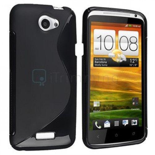 Θήκη Σιλικόνης για HTC One Χ black
