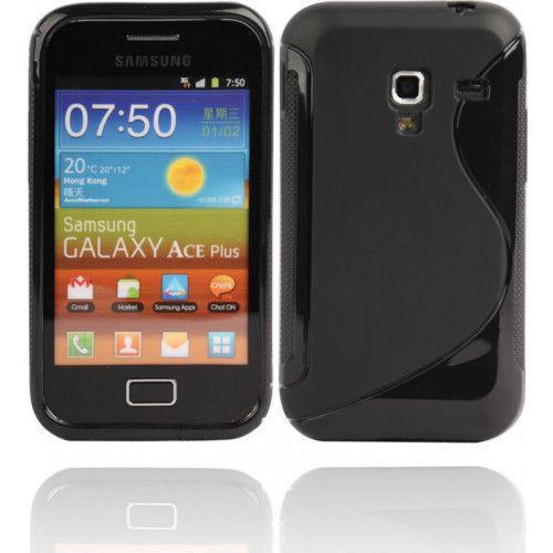 Θήκη σιλικόνης για Samsung Galaxy Ace Plus S7500 black